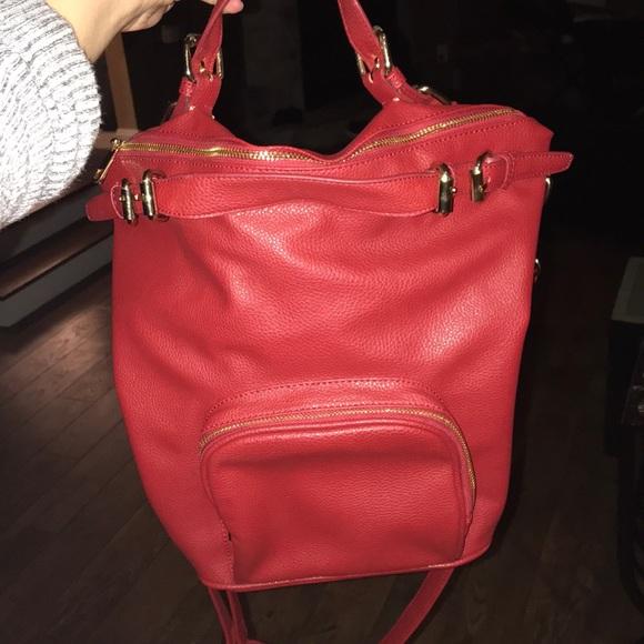 Cache Coeur Handbags - Red Stylish Handbag